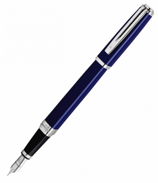 Ручка Waterman Exception Slim Blue Lacquer ST (FP) (M)